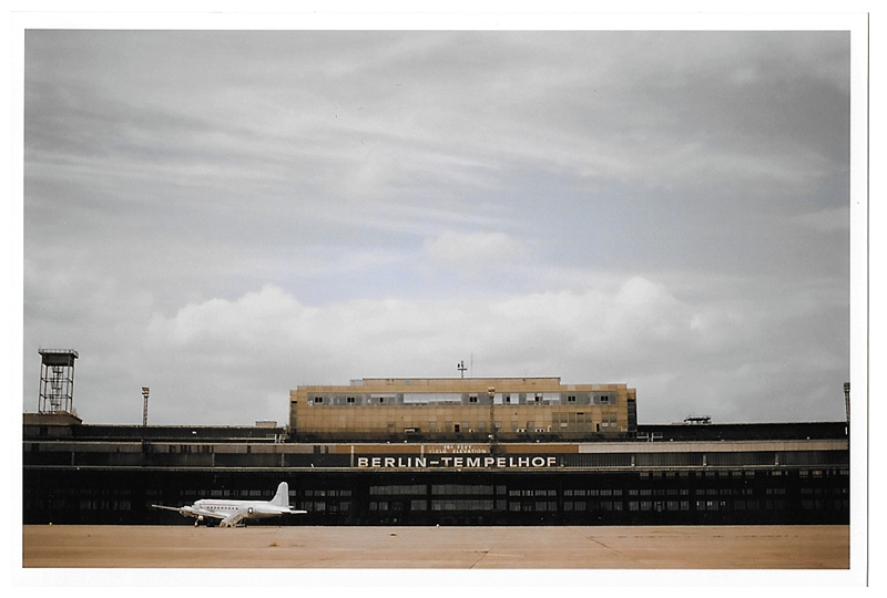 film photo of berlin tempelhof airport