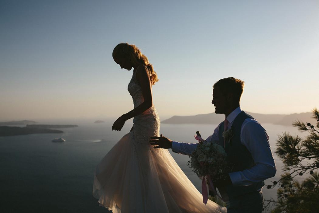 Wedding at Rocabella Santorini, Greece