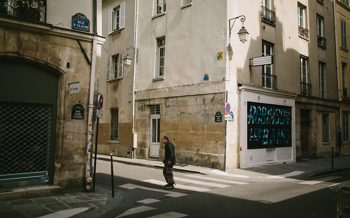 Streets near Monmarte photo