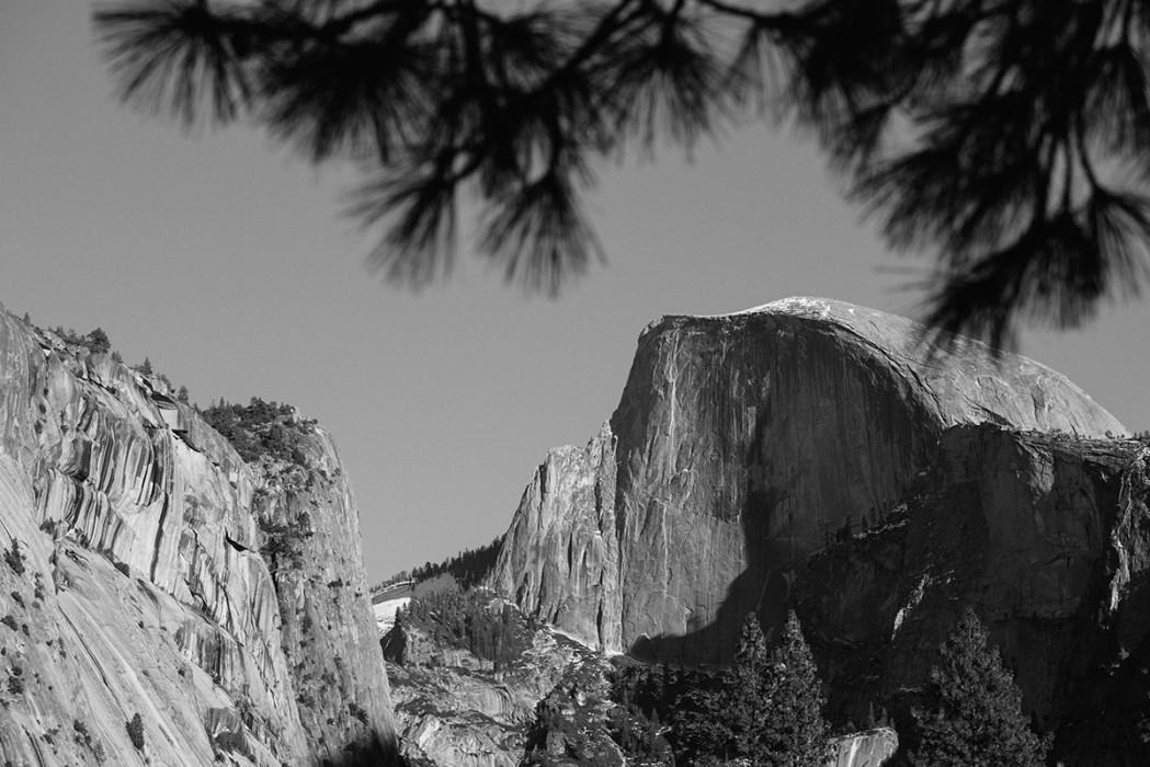 Yosemite half dome photo