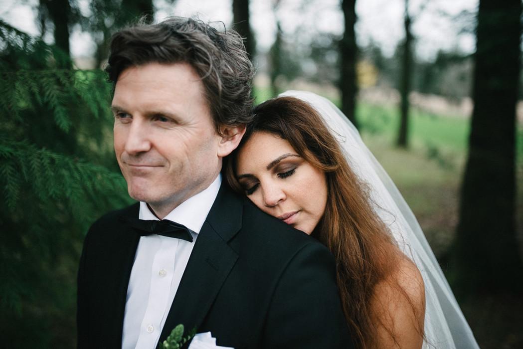Algerian Belgian Wedding couple