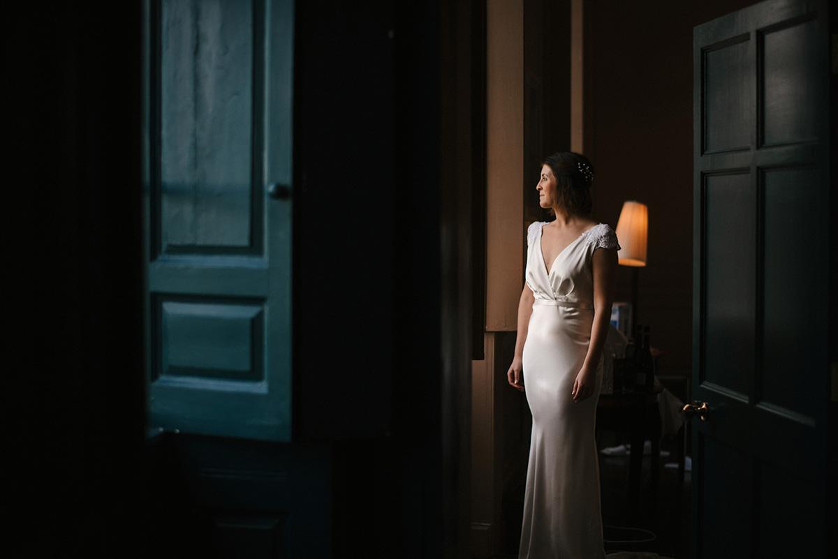 bridal portrait Bellinter House Wedding Photographer