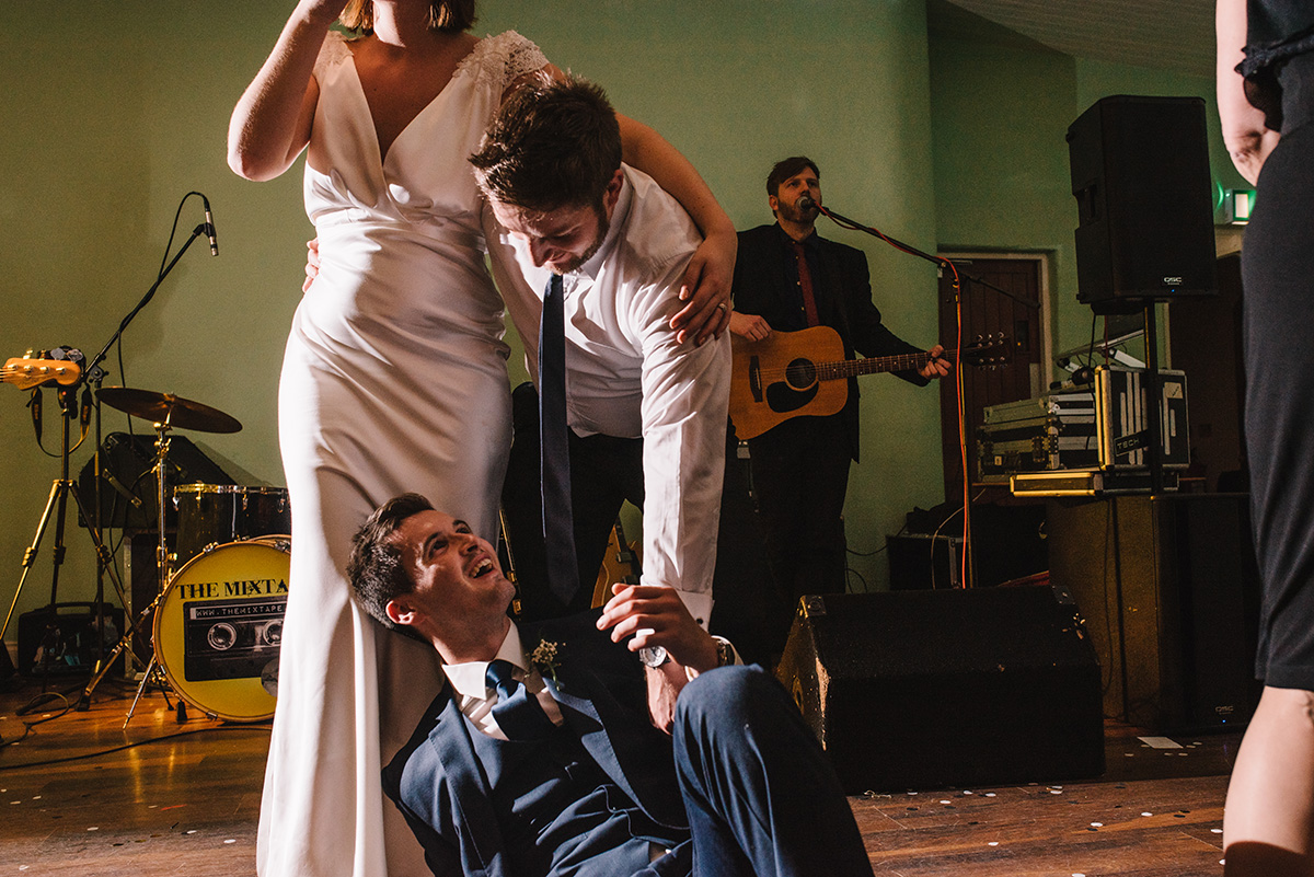 The mixtape irish wedding band Bellinter House Wedding Photographer