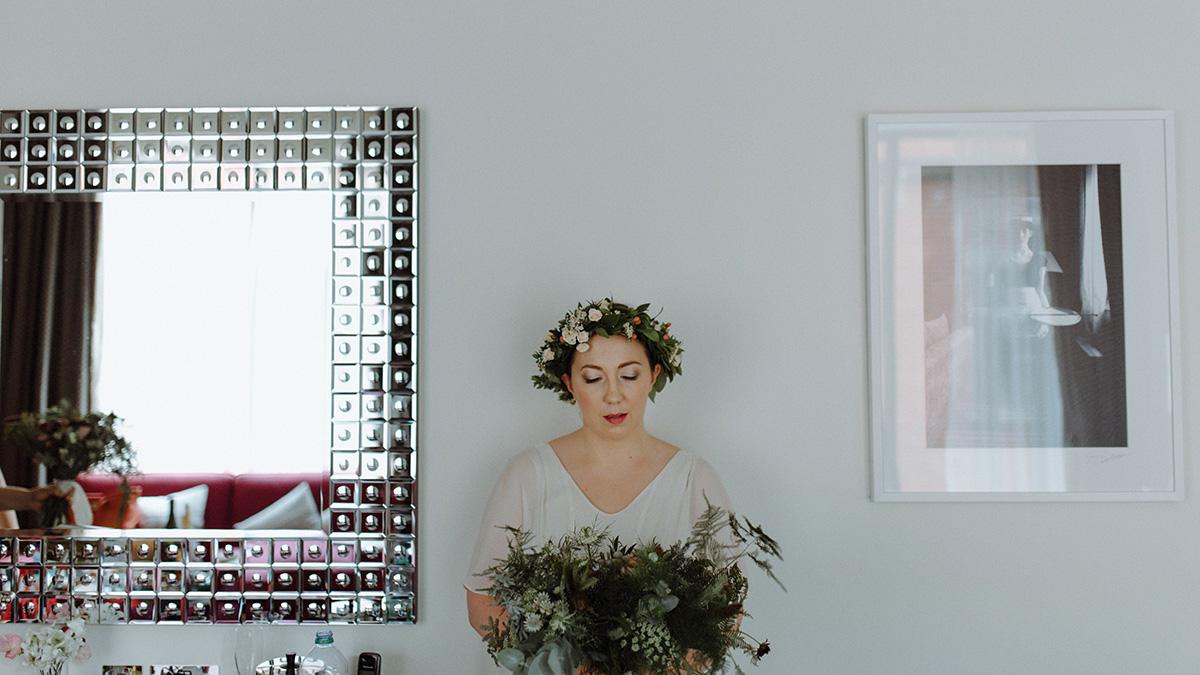 the merchant hotel wedding photographer belfast bride