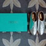 bride mina shoes wedding