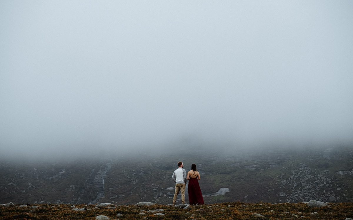 Slieve Binnian Adventure session | Marina + Scott