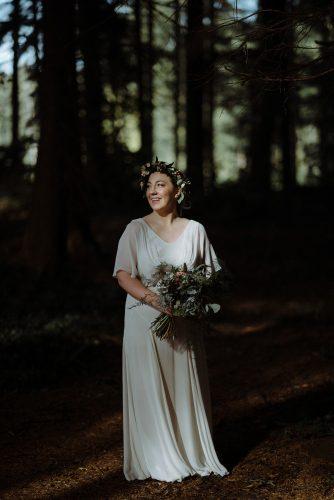Bride portrait Muddlers club Belfast wedding
