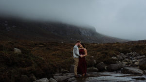 epic portrait of couple creative wedding and elopement photographer