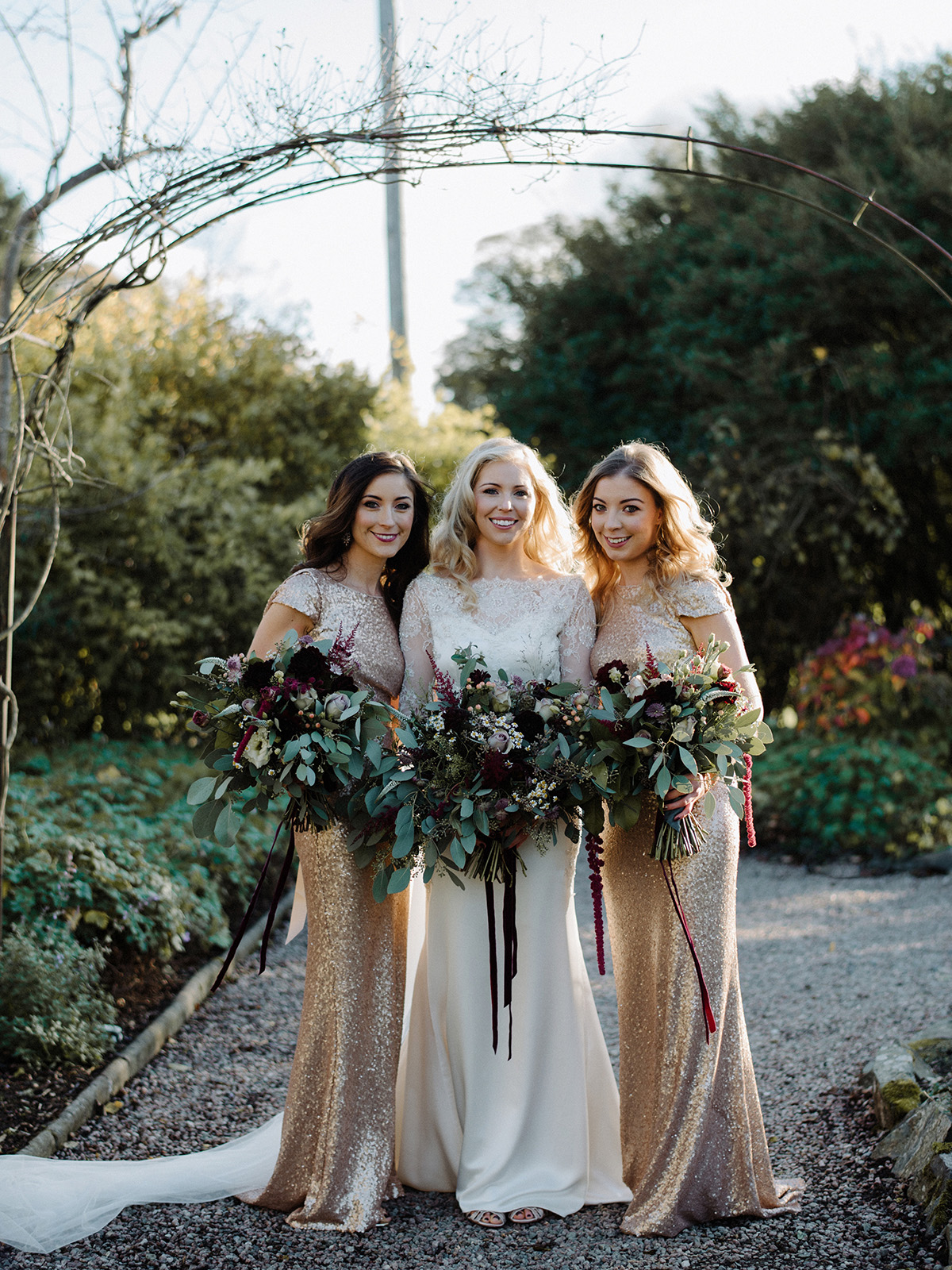 bridesmaids alternative wedding photography ireland larchfield estate