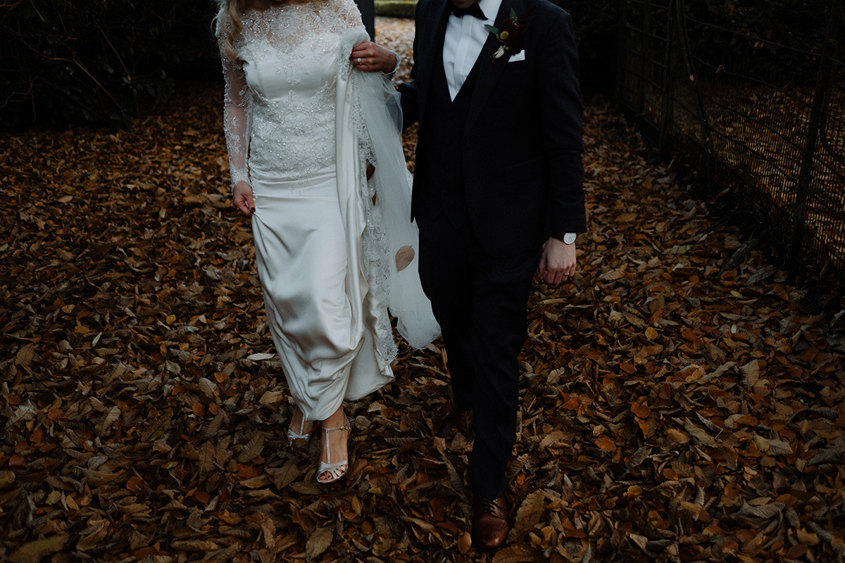autumn wedding at larchfield estate photography