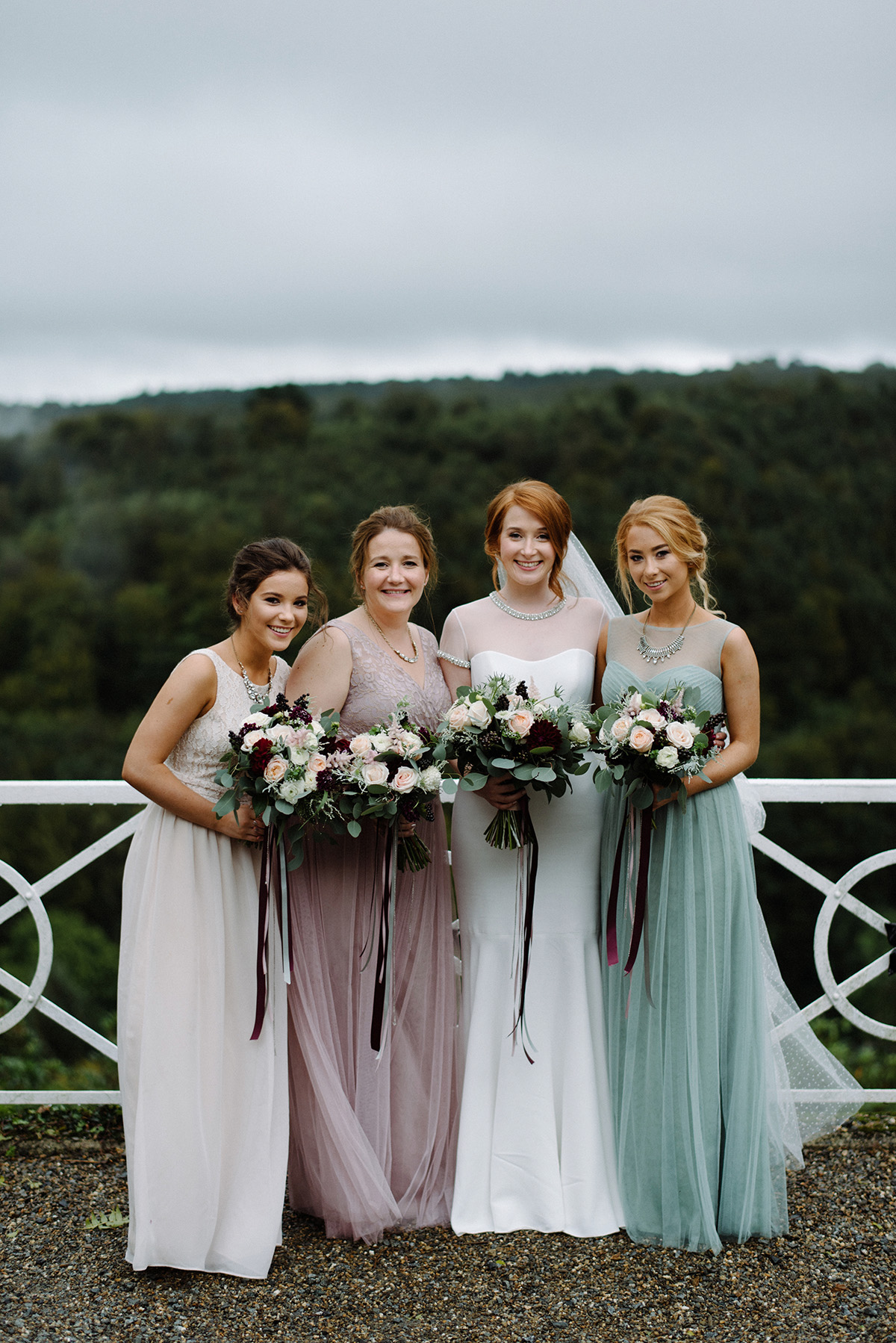 Clonwilliam House Wedding bridesmaids photographer