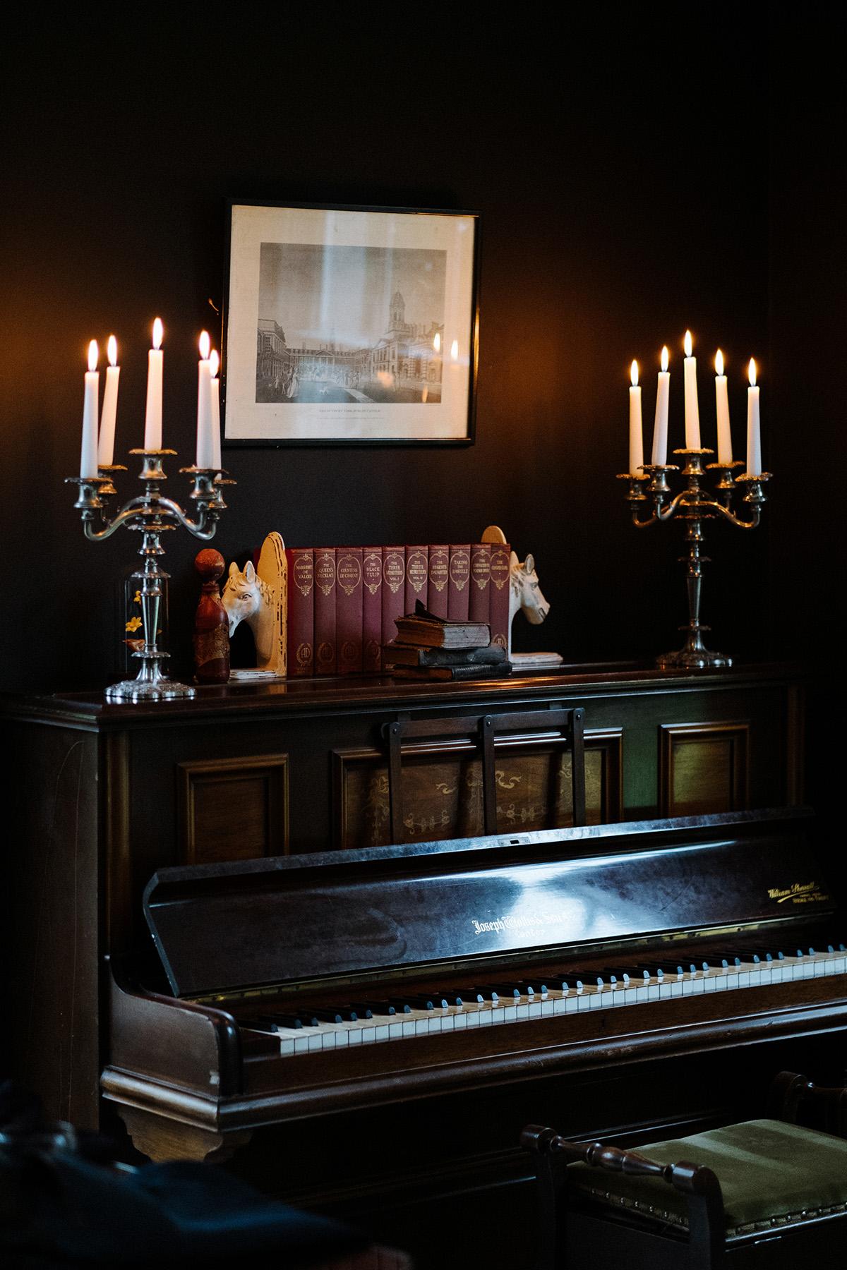 Clonwilliam House room details wedding photographer