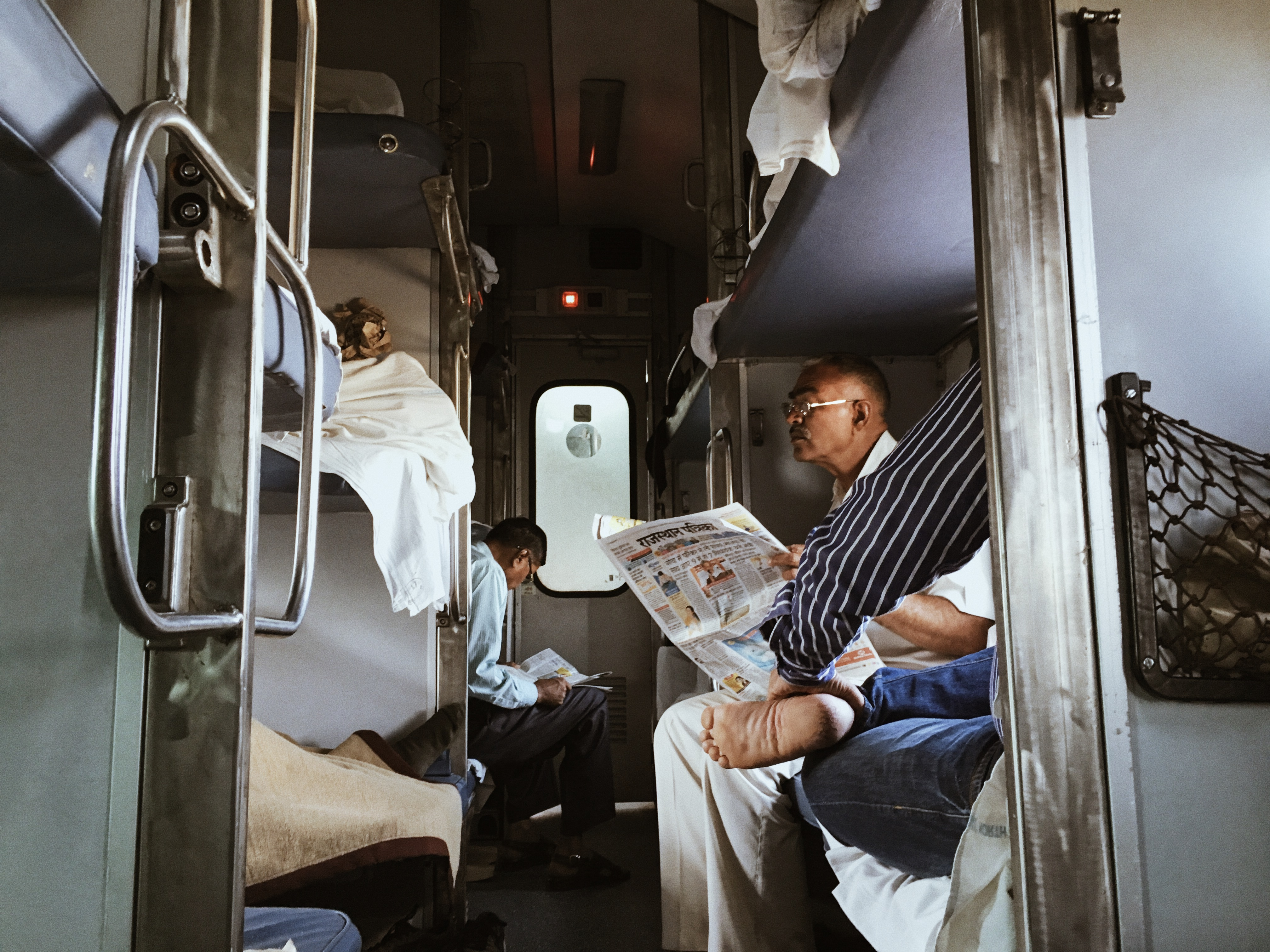 cinematic india train journey