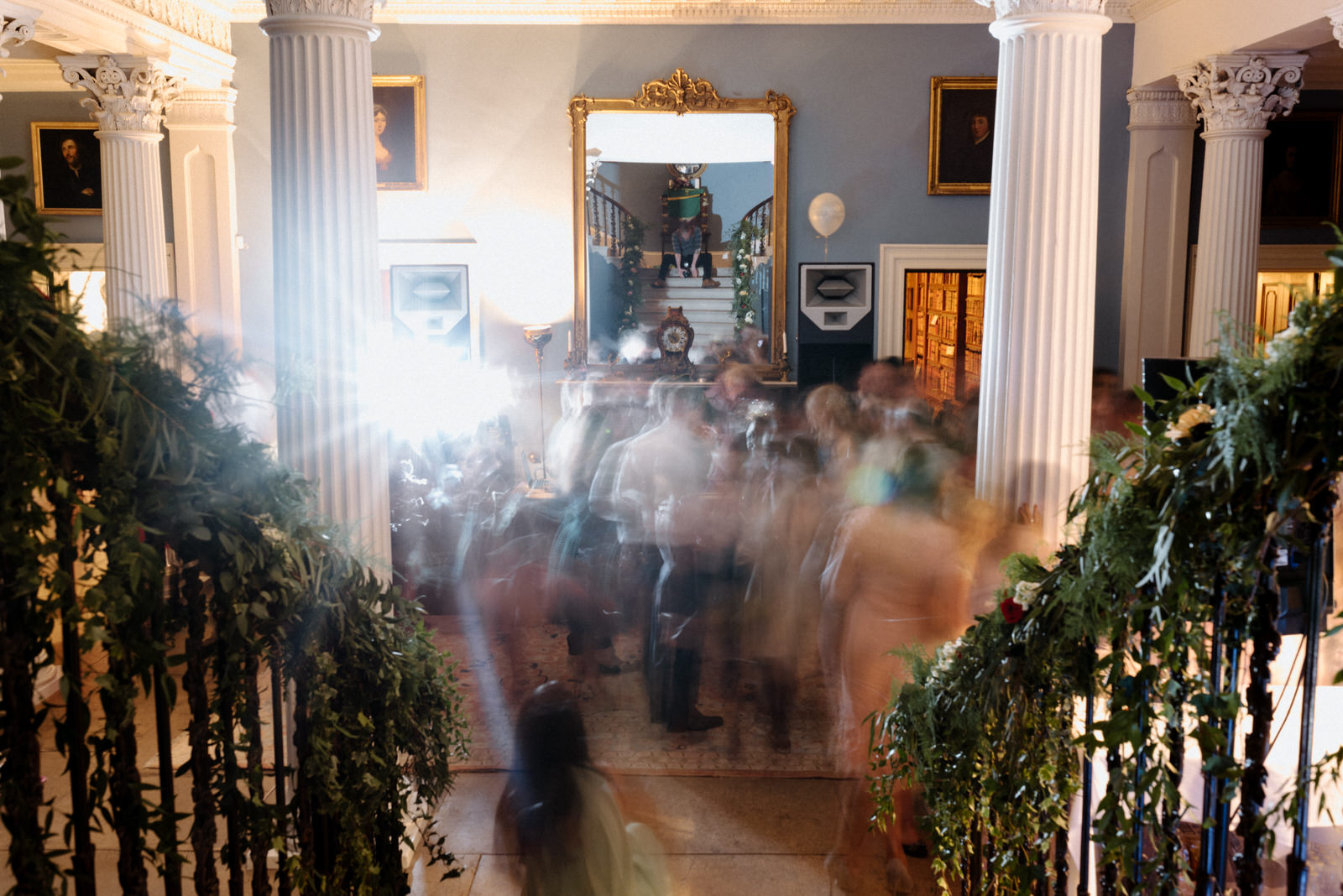 dance floor in main house Drenagh Estate Wedding Photographer
