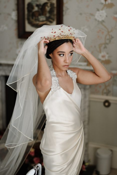 Drenagh Estate Wedding Photographer bride