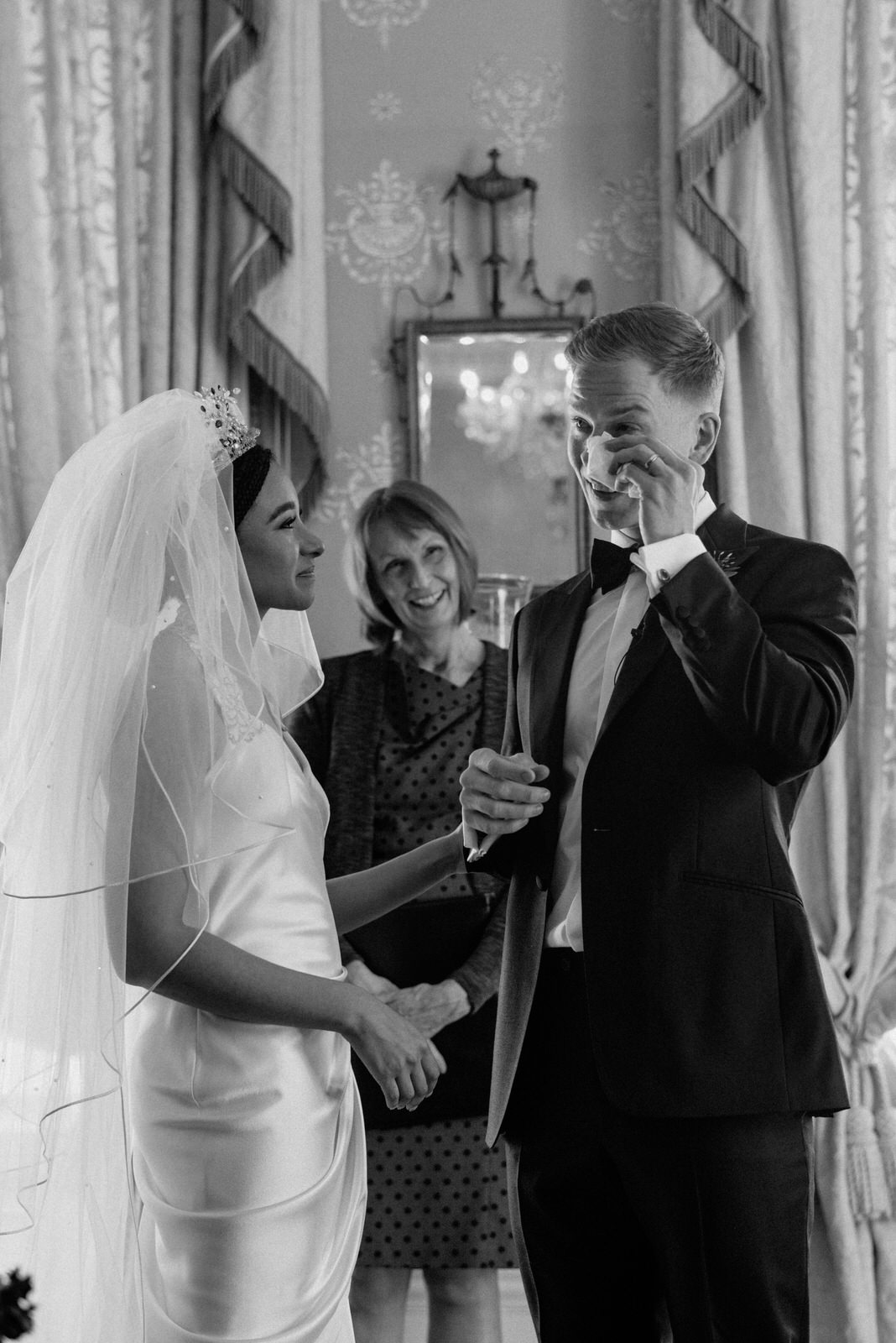 Documentary wedding photographer belfast