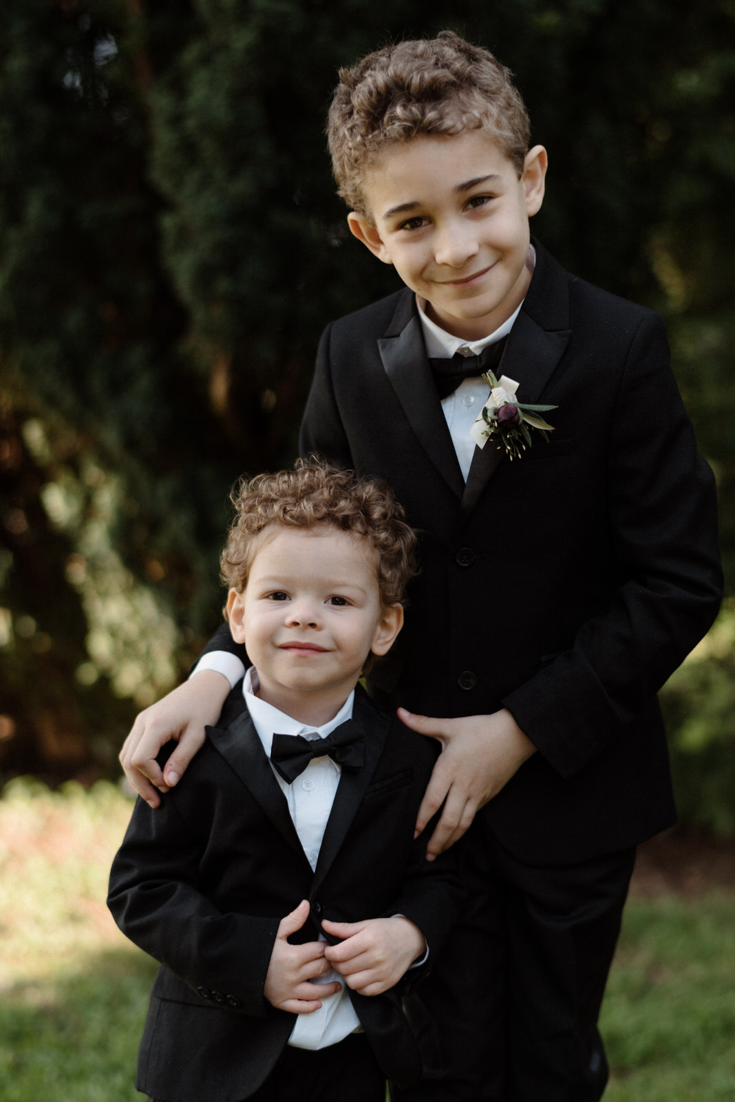 dapper page boys photo