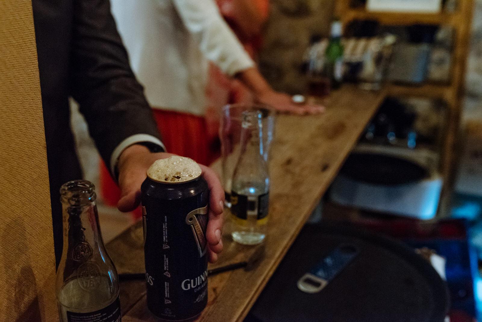 guinness drink wedding