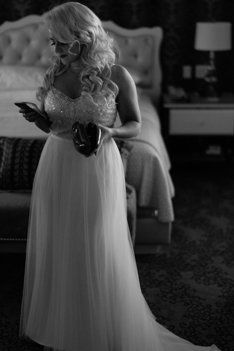 vegas elopement documentary wedding photographer bride