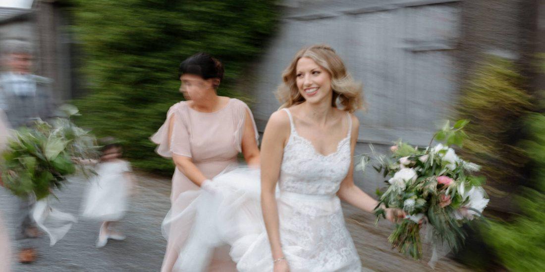 bohemian bride wedding