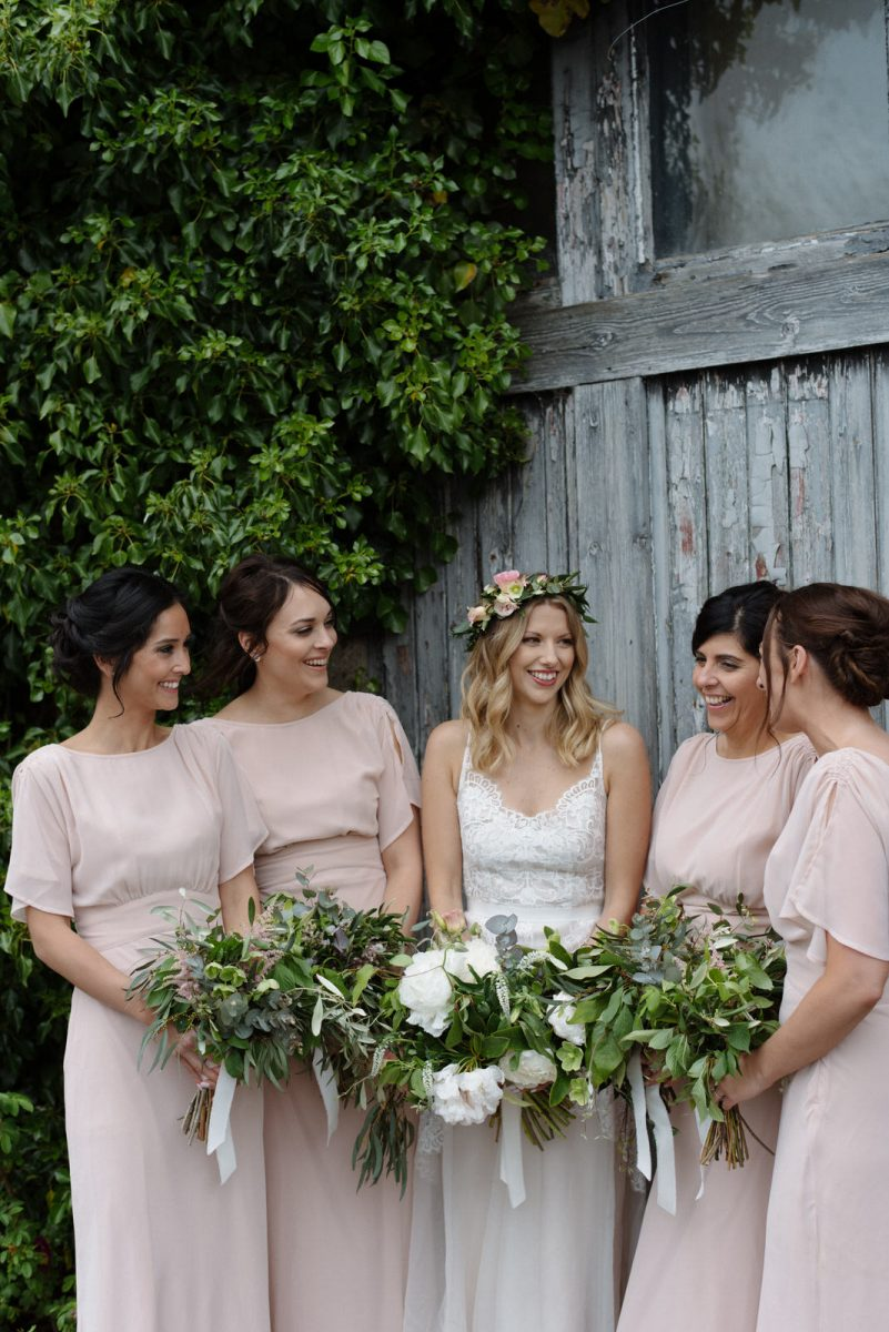 boho bride tribe lime park wedding photo northern ireland