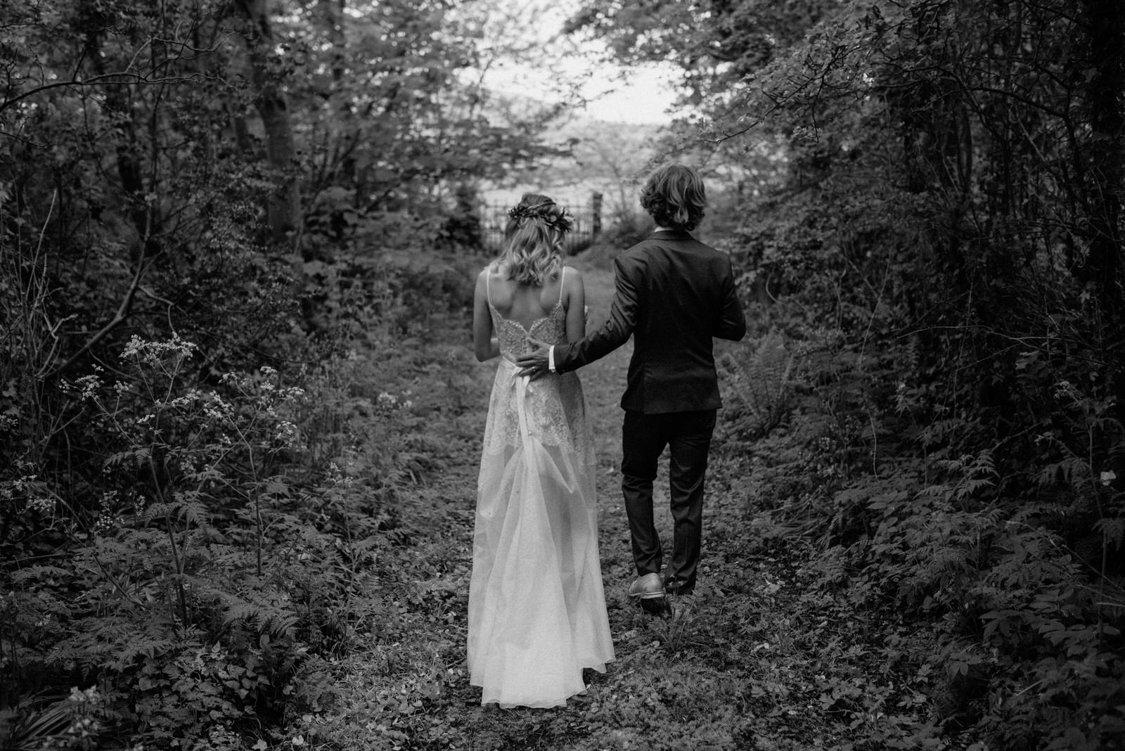 Lime Park Creative Wedding Photographer Northern ireland boho forest