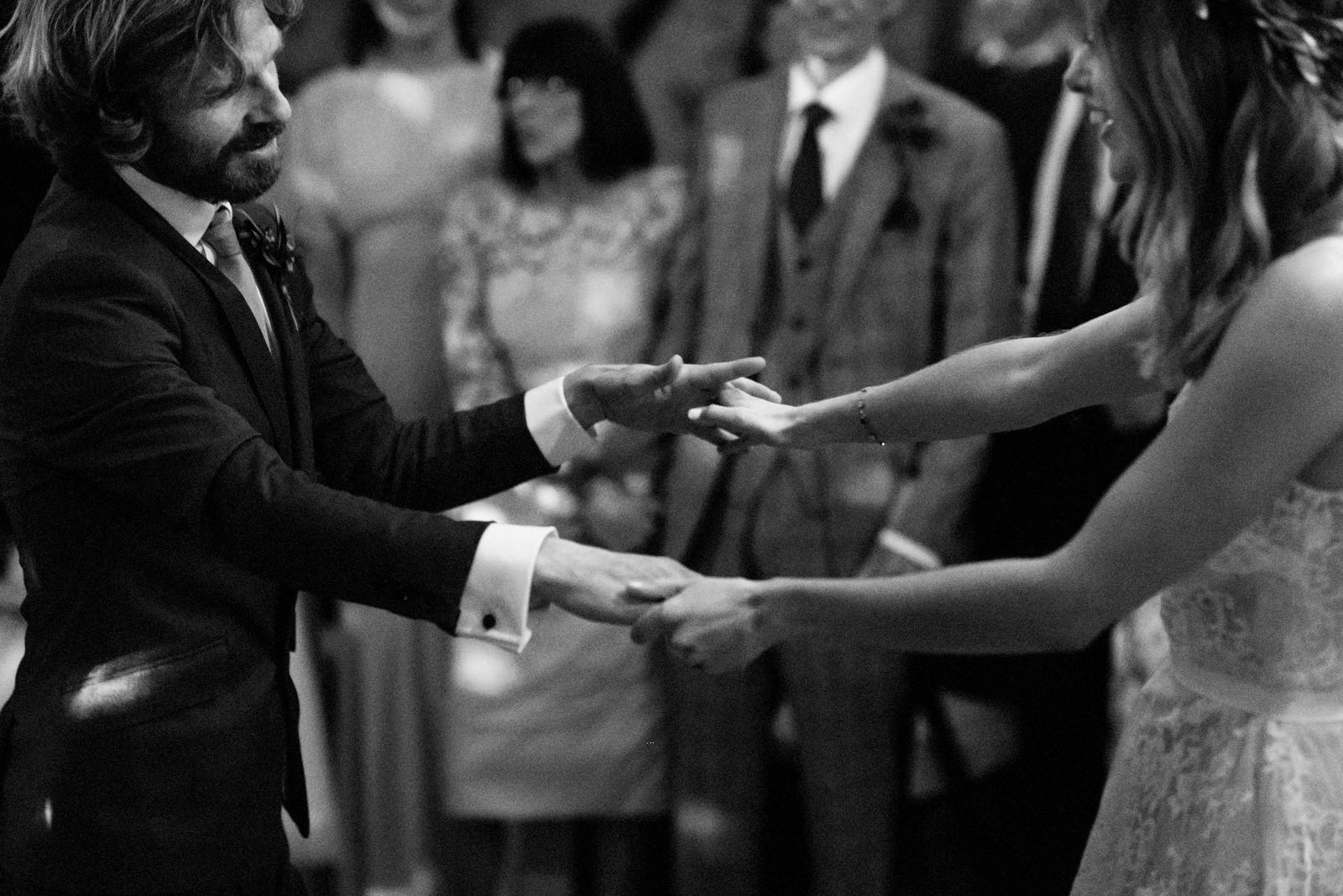 newlyweds first dance boho