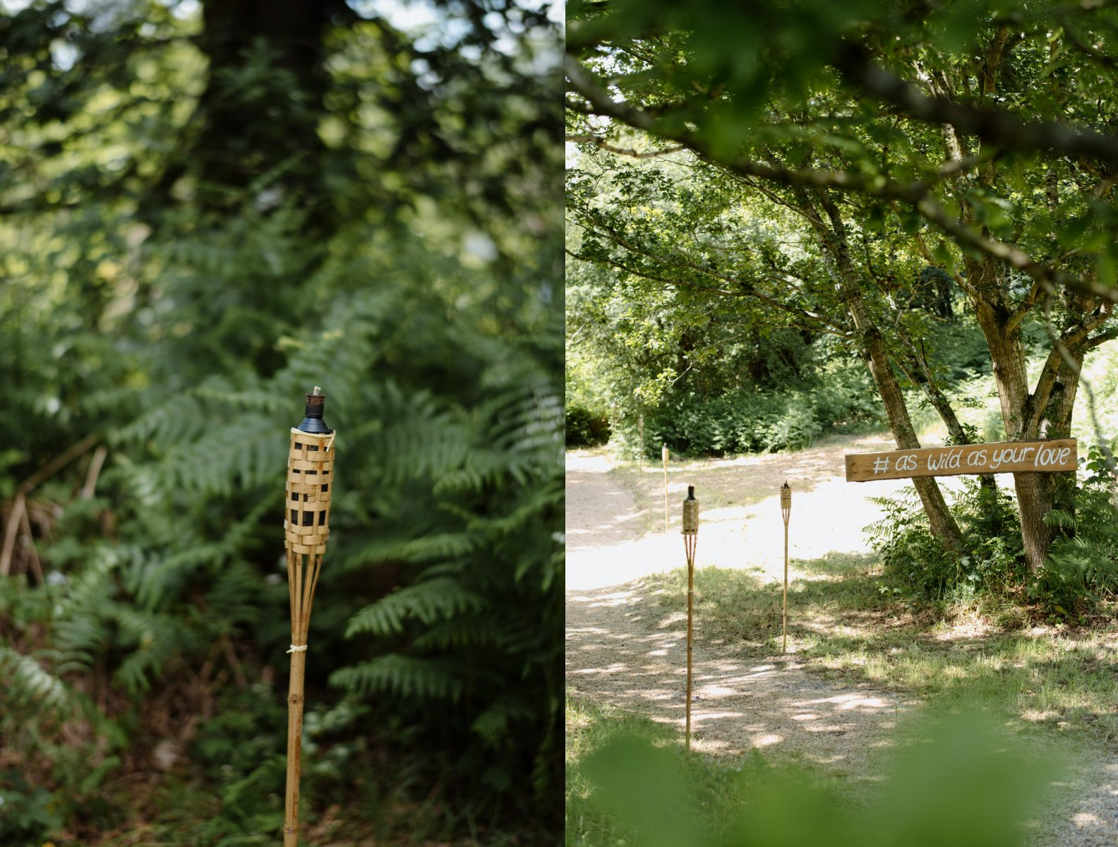 Finnebrogue Woods details Wedding photographer