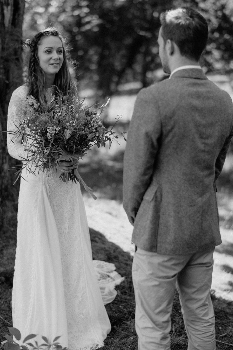 Finnebrogue Woods wedding ceremony