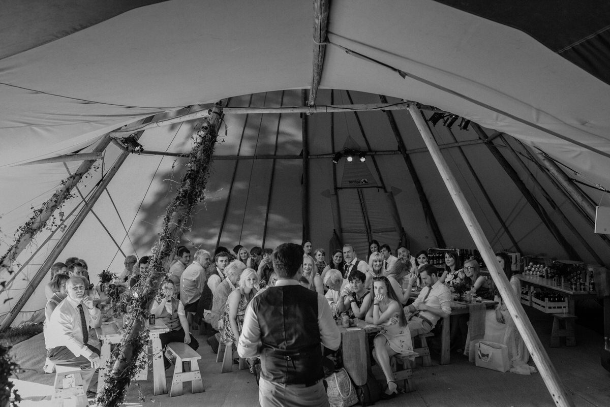 Vegan Tipi Wedding