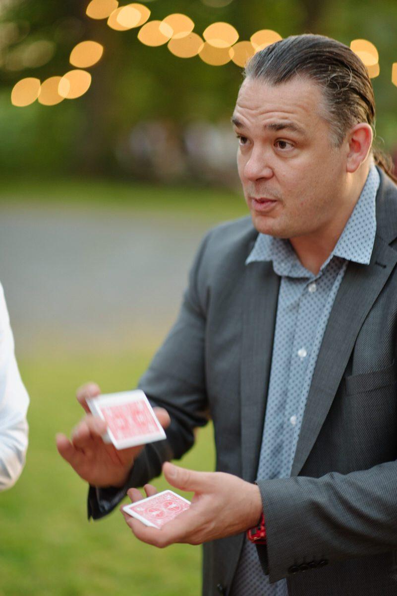 Magician Wedding Finnebrogue