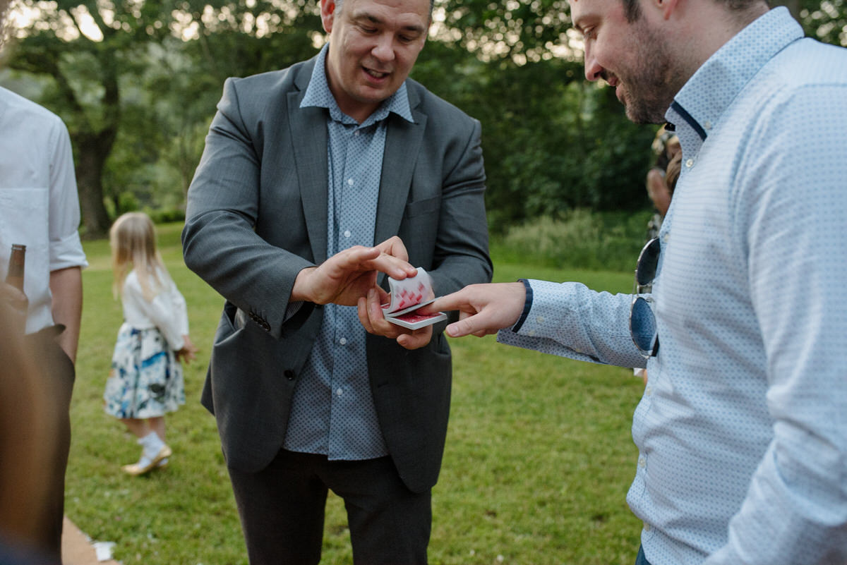 Magician Wedding tricks