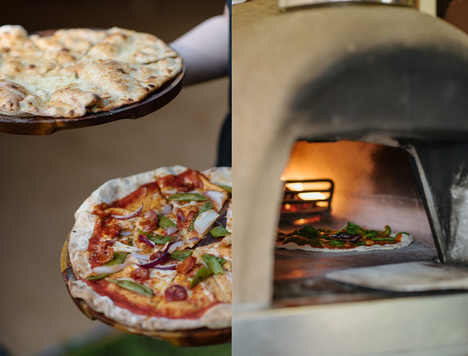 Papa J pizza wedding Finnebrogue