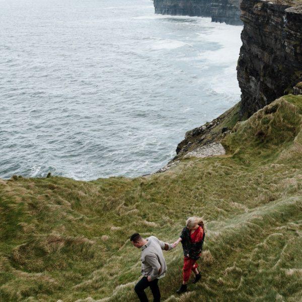Cliffs of Moher - Kandis + Dan