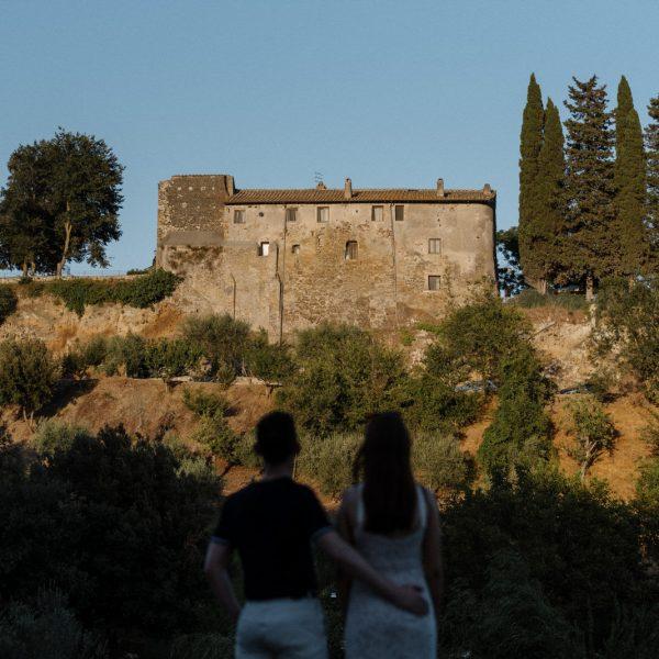 Borgo di Tragliata Wedding - Emma + Johnny's Wedding, Rome