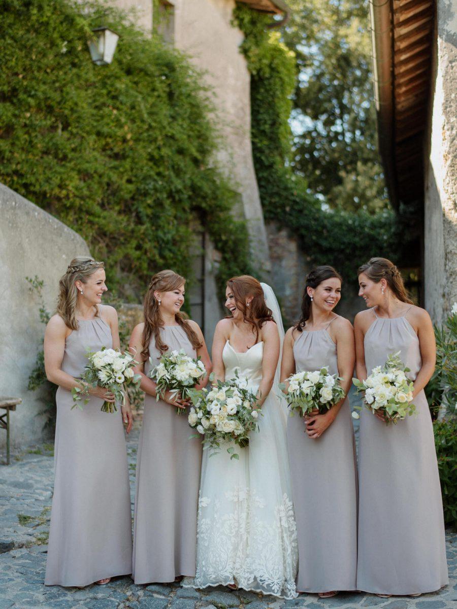 Borgo di Tragliata bridesmaids photographer