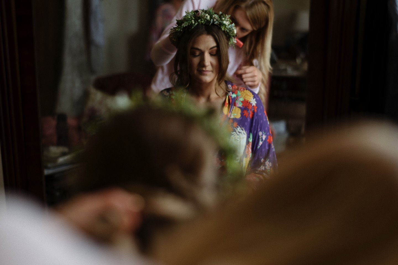 Borris House Wedding prep