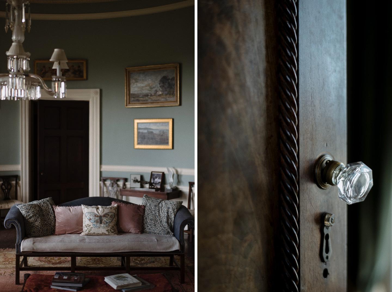 borris house room details Borris House Wedding Photographer