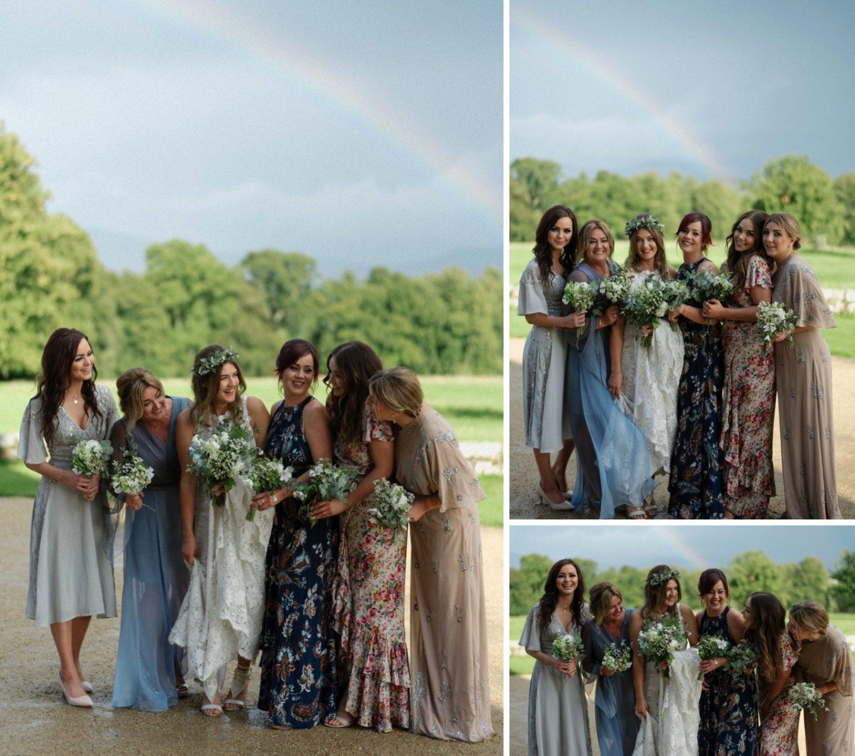 alternative borris house exclusive wedding venue photographer bridesmaids