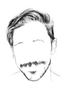 Chris Copeland face illustration