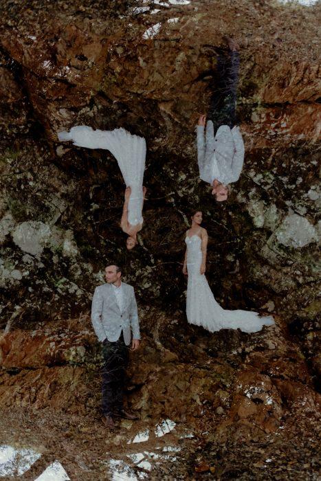 creative wedding photographer Auckland