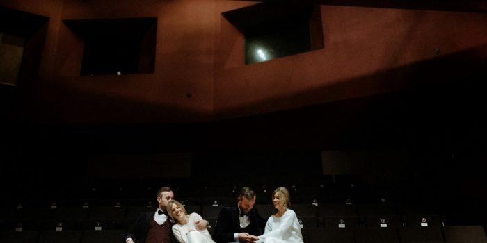 Lyric Theatre Wedding
