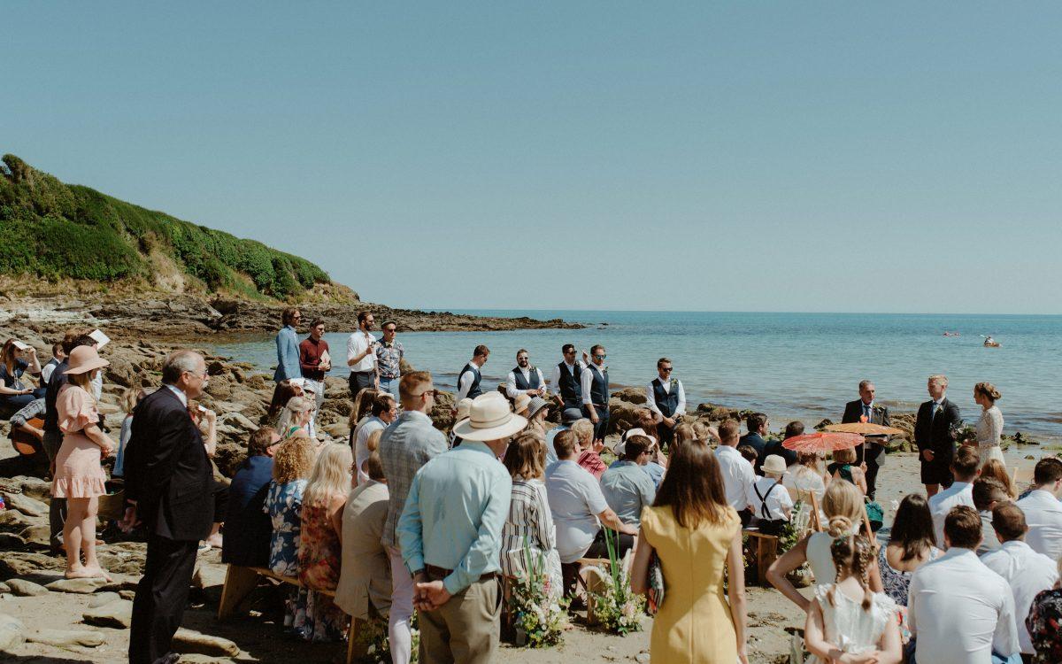 F+O - Cornwall Beach Wedding