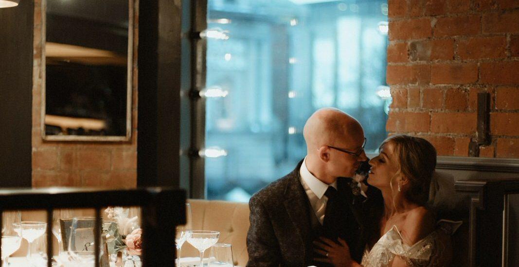 Cafe Parisien Wedding photographer Belfast
