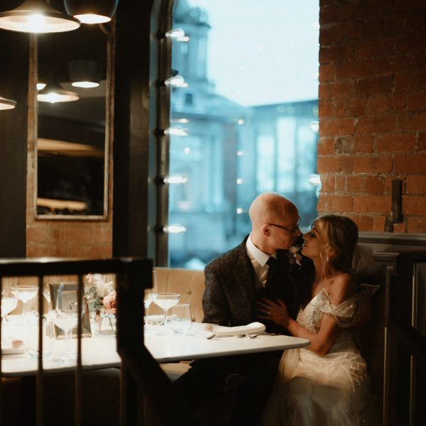 Cafe Parisien Wedding photographer Belfast