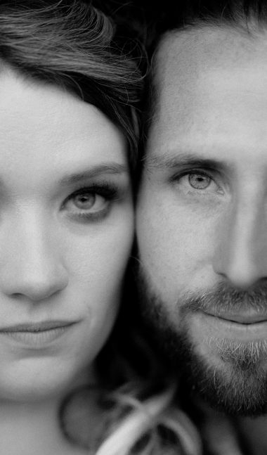 close up intimate portrait of couples face belfast creative wedding photographer