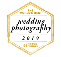the worlds best wedding photography 2019 junebug badge