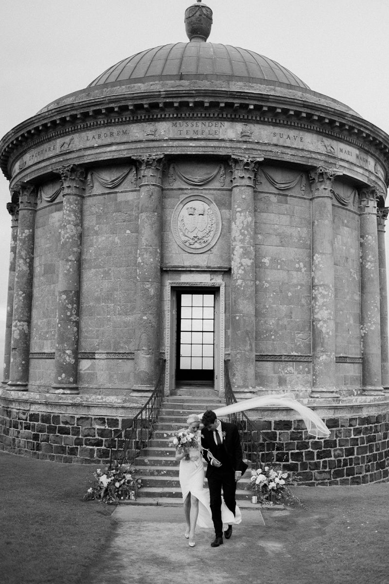 mussenden temple wedding photographer northern ireland